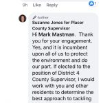 Placer County Sup D4 Update: Suzanne Jones - Man-Made Global Warming Edition